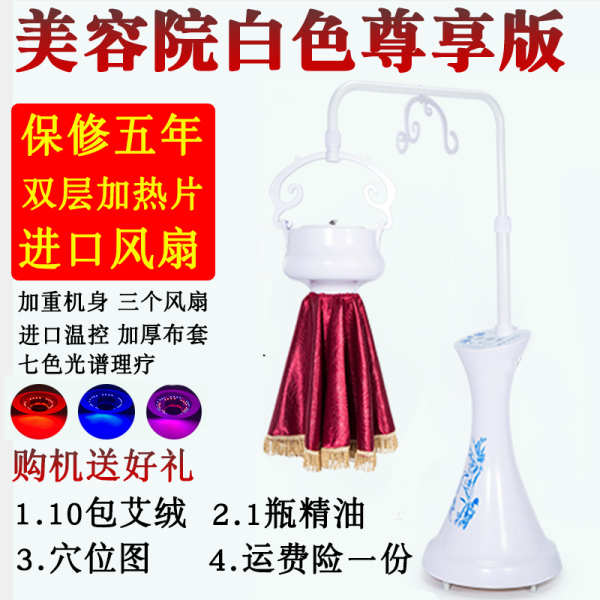 Buy Moxibustion for Beauty Salon Fumigation Instrument Whole Body Physiotherapy Household Smoke-Free Moxa Instrument Moxibustion Household Instrument plus Moxa Singapore