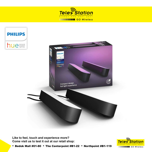 Philips Hue Play Light Bar Duo Pack
