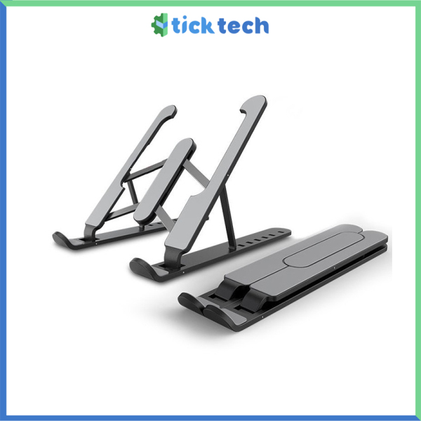Tick Tech Full Aluminum Alloy Or ABS + Metal Laptop Stand Holder