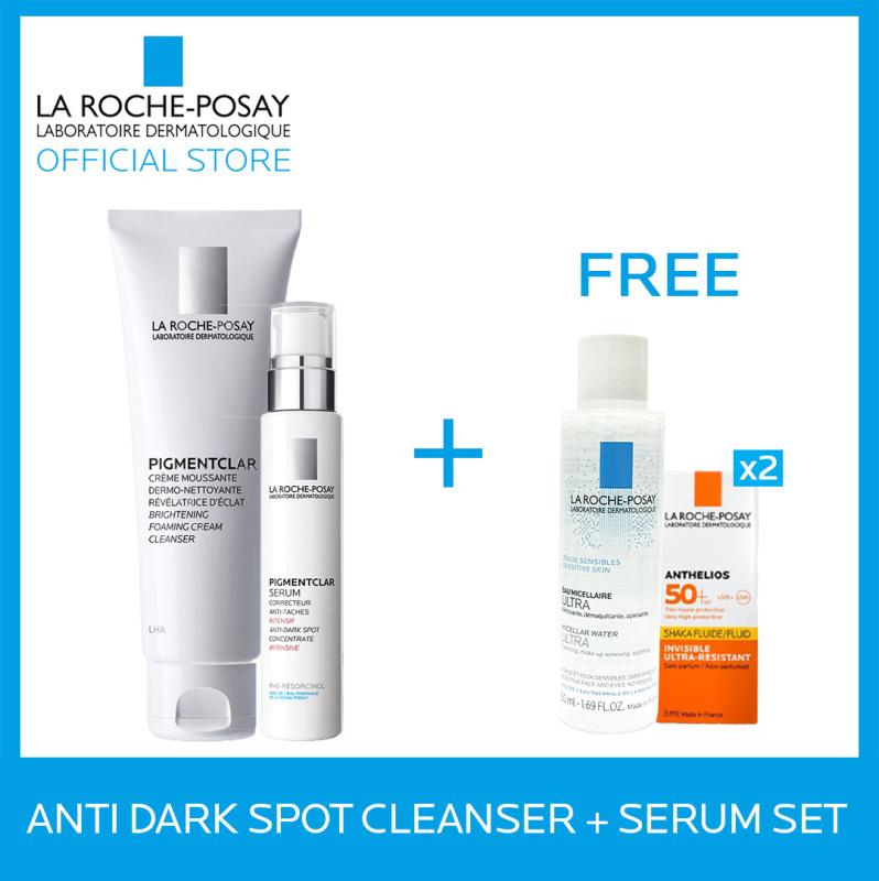 Buy La Roche-Posay Anti-Dark Spot Cleanser + Serum Set Singapore