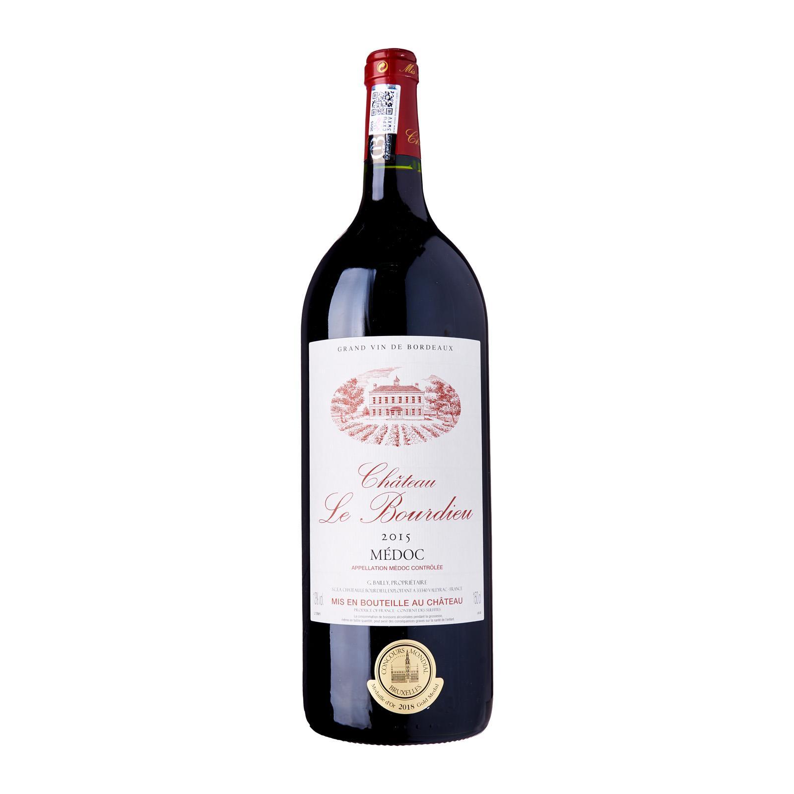 Chateau le Bourdieu Bordeaux Medoc Cru Bourgeois Magnum