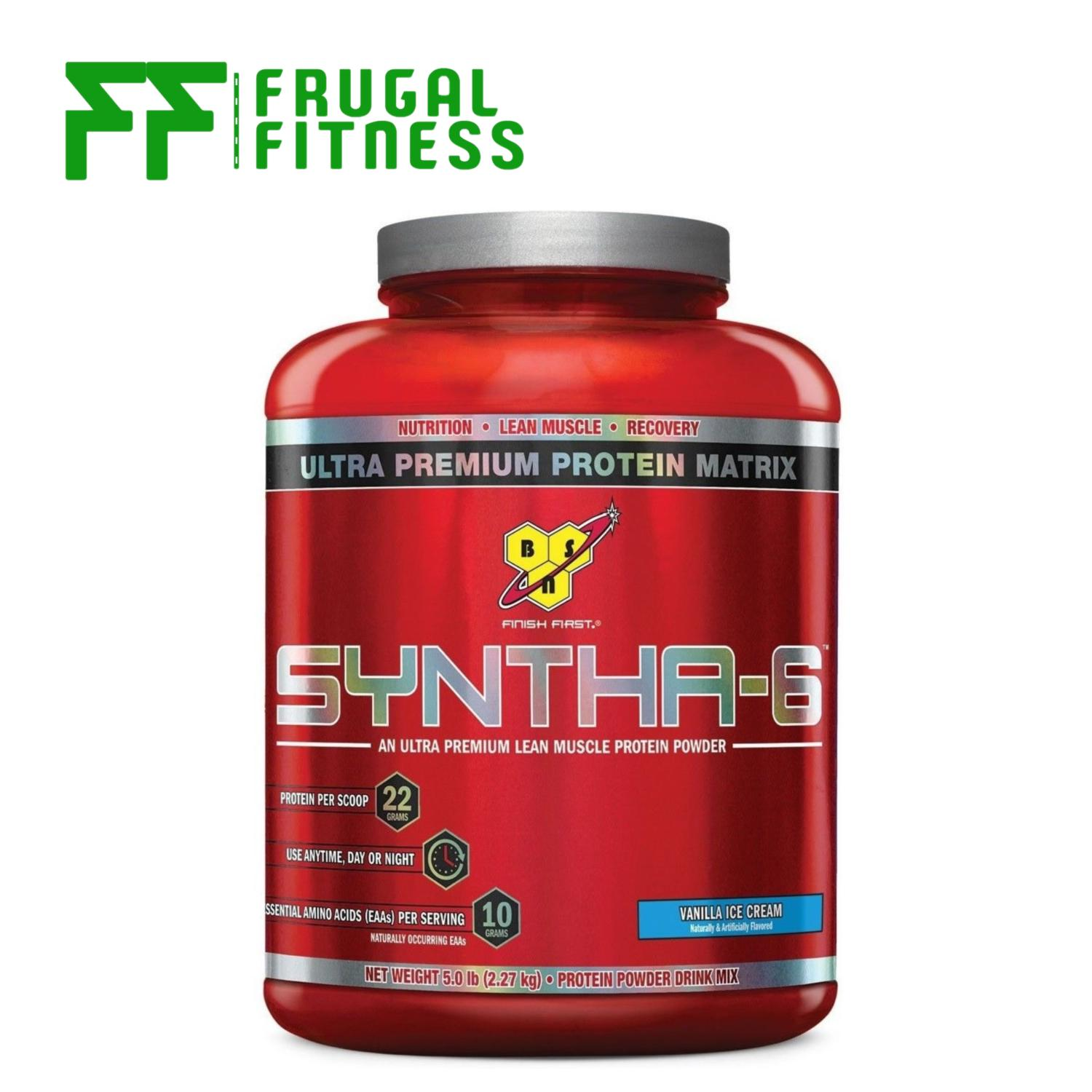 Bsn Syntha 6 Protein Powder 5lbs [various Flavors] By Frugal Fitness.