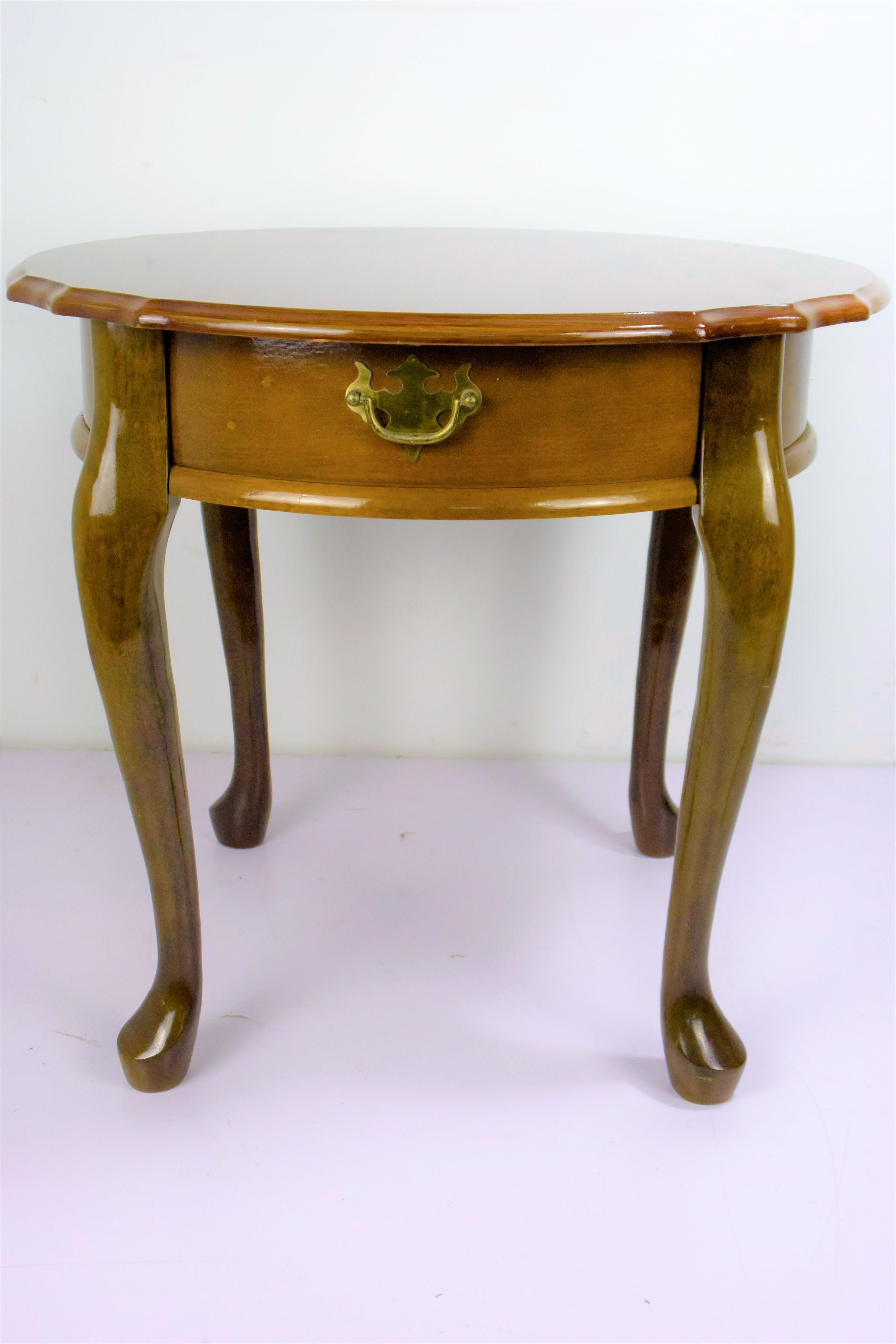 Oriental Wooden Coffee Table