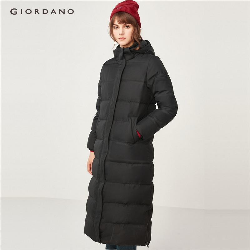 Giordano Women 90% Grey Goose Down Detachable Down Jackets [free Shipping] 05378710 By Giordano Official.