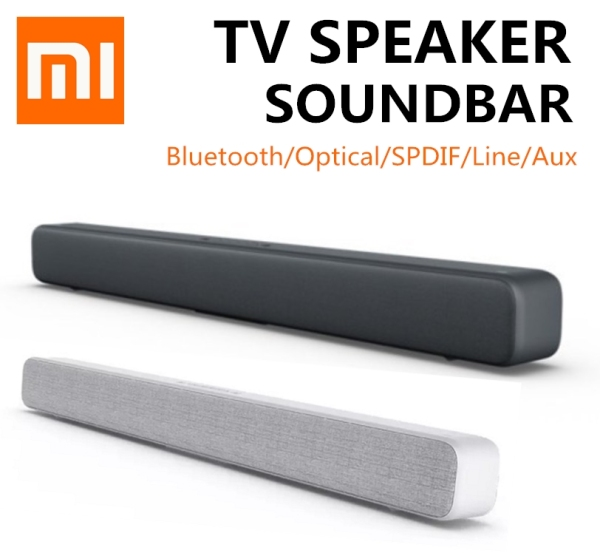 Xiaomi TV Soundbar Wireles Bluetooth Speaker Portable TV Sound bar Support Optical SPDIF AUX Computer Desktop Wall Mount Speakers Singapore