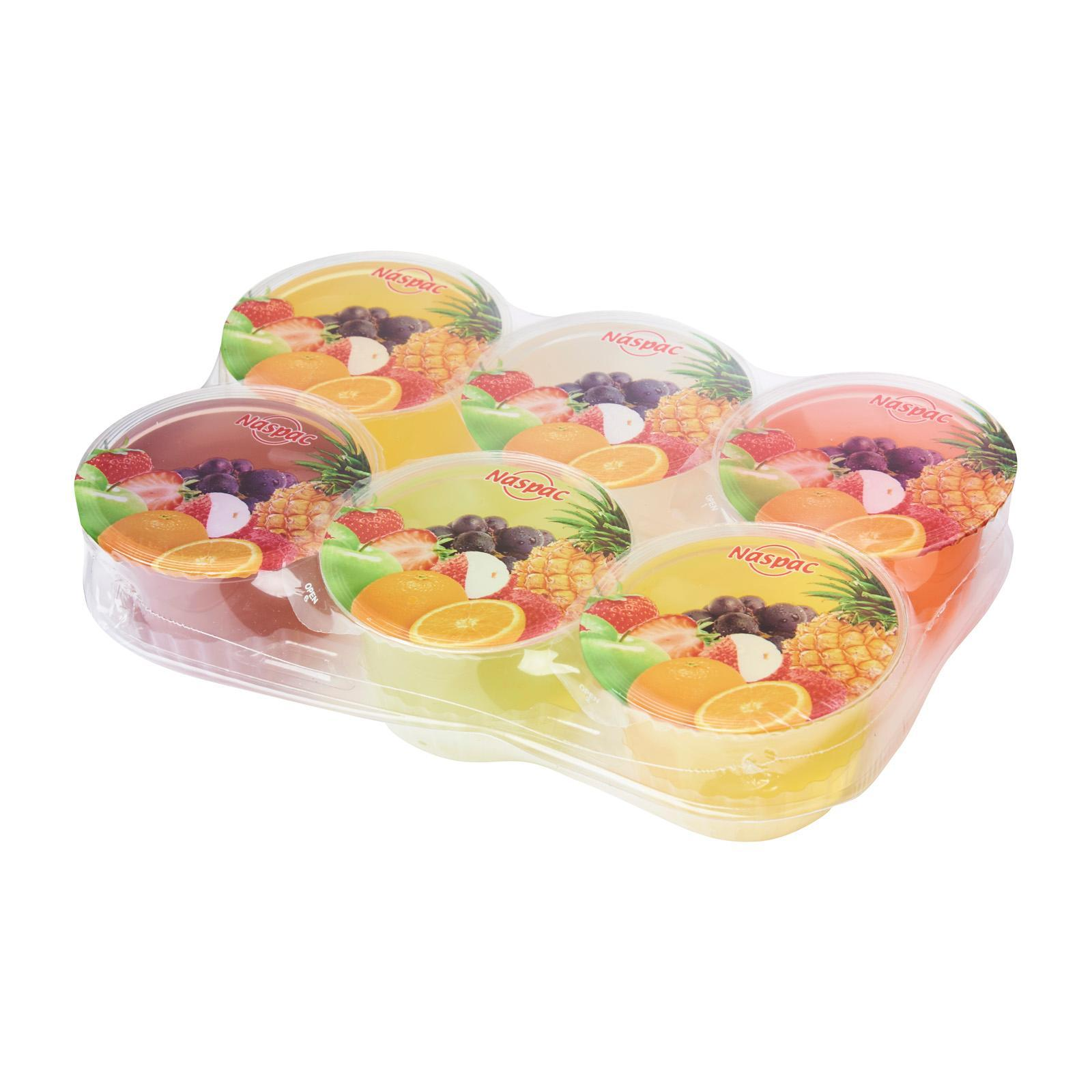 Naspac Jelly Asstorted Flavors With Nata De Coco