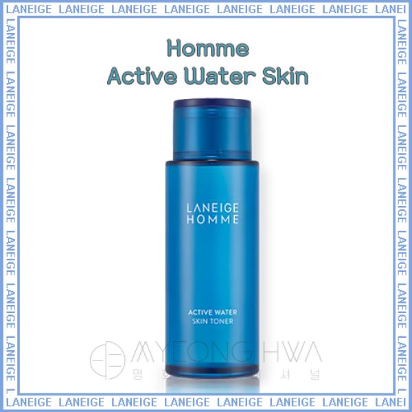 Buy [ LANEIGE ] Homme Active Water Skin 180ml Singapore
