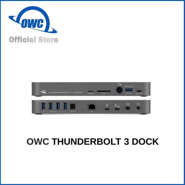 [OWC Official Store] OWC THUNDERBOLT 3 DOCK.  Local Warranty 1 Year