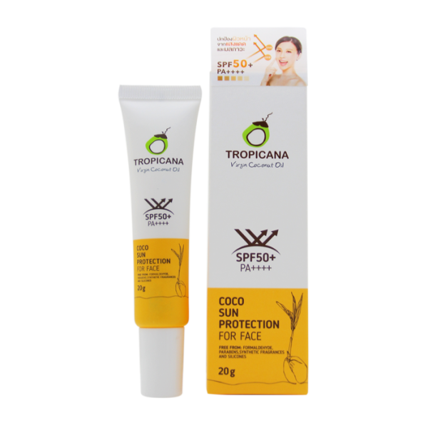 Buy Tropicana Coco Sun Protection for Face, 20g Singapore