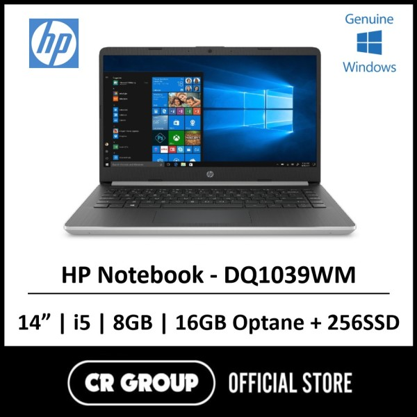 Same Day Delivery Option* HP Notebook 14 - DQ1039WM 10th Gen Intel® Core™ i5-1035G1 8GB DDR4 RAM 256GB SSD!!!BEST FOR W.F.H!!!