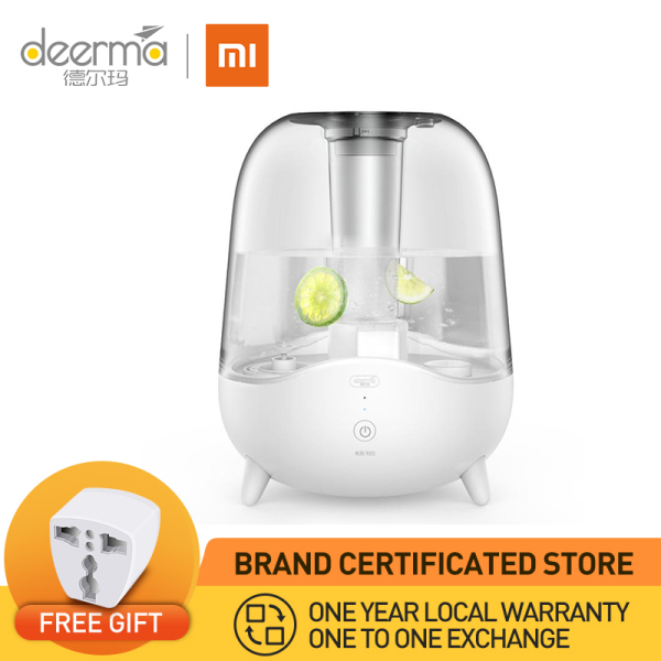 XIAOMI Deerma F325 Ultrasonic Cool Mist Humidifier 5l large capacity auto shut off adjustable mist volume whisper quiet lasts up to 24 hours Singapore