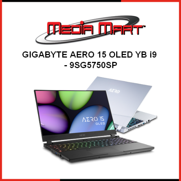 Gigabyte AERO 15 OLED YB i9 - 9SG5750SP GBT1074