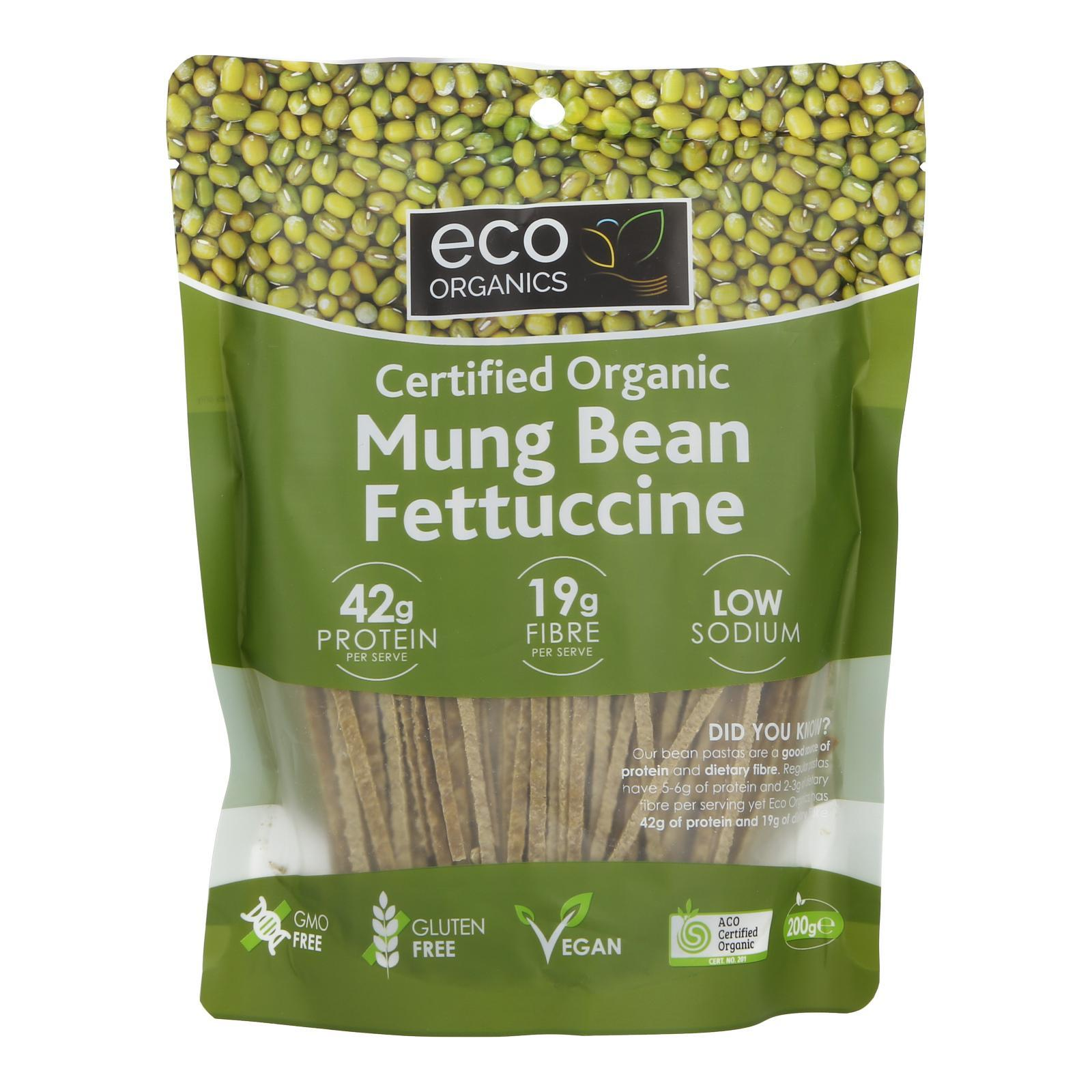Eco Organics Mung Beans Fettuccini - By Wholesome Harvest By Redmart.
