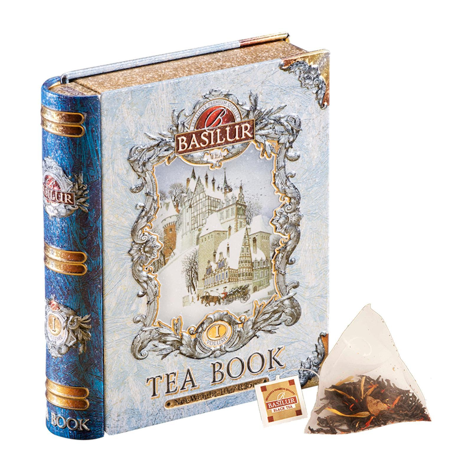 Basilur Miniature Tea Book (Roasted Almond Black Tea)