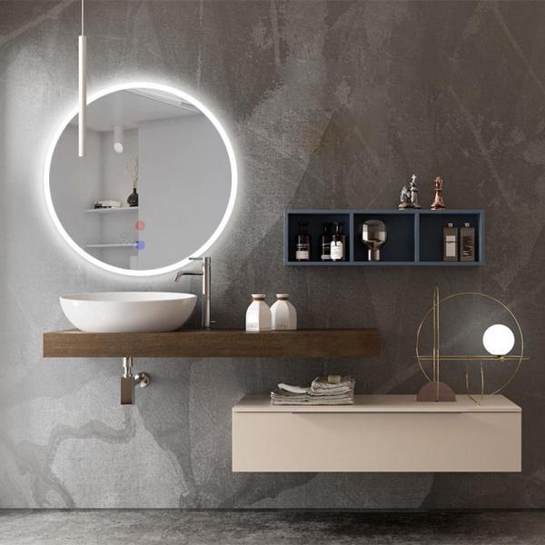 Mirror Light LED Wall Mirror Light Round Wall mirror Light Touch Switch Mirror Light Bathroom Bedroom make up Mirror Lights