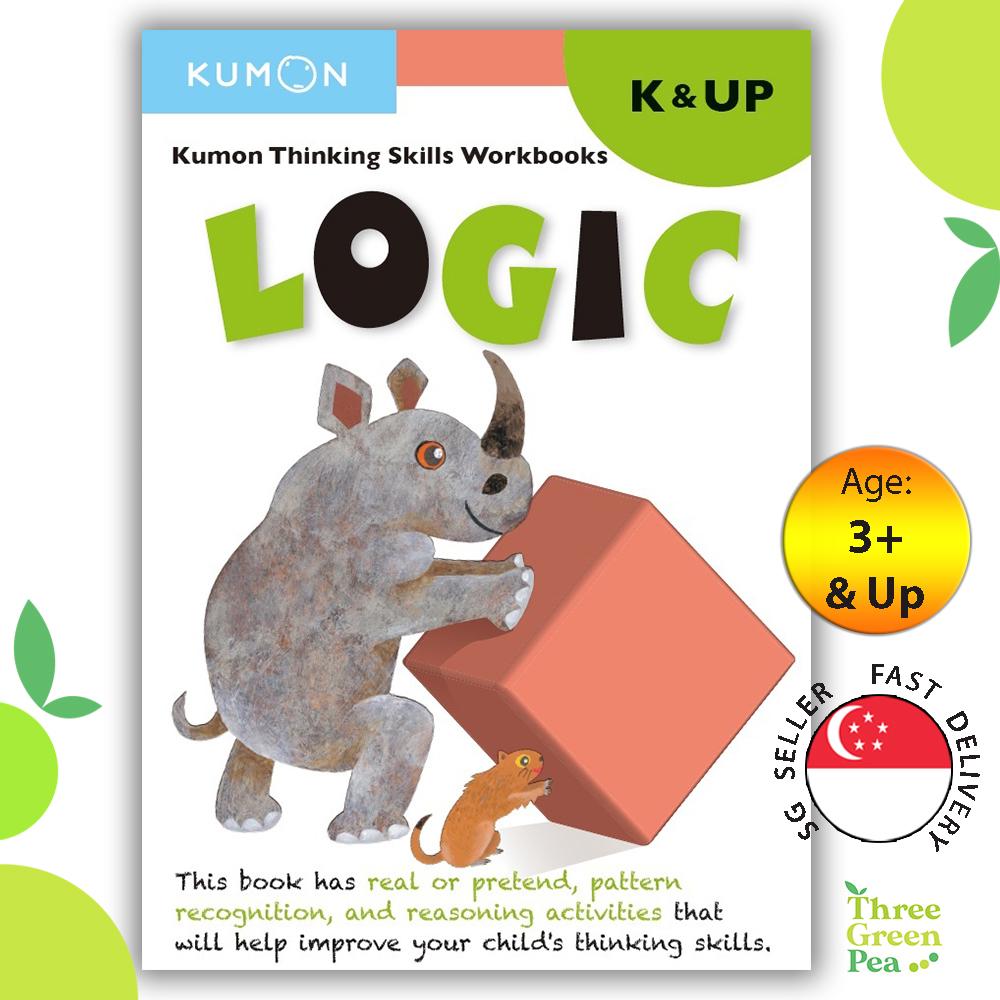 Kumon Thinking Skills Workbook LOGIC (K & Up)