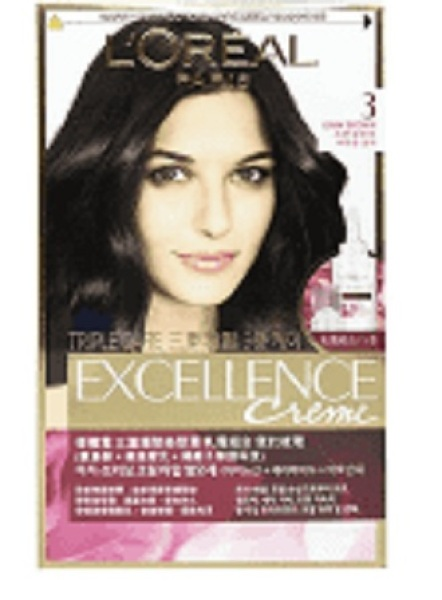 Buy [Bundle of 2] LOREAL Excellence Hair Colour - Exc. No 3 Dark Brown Singapore