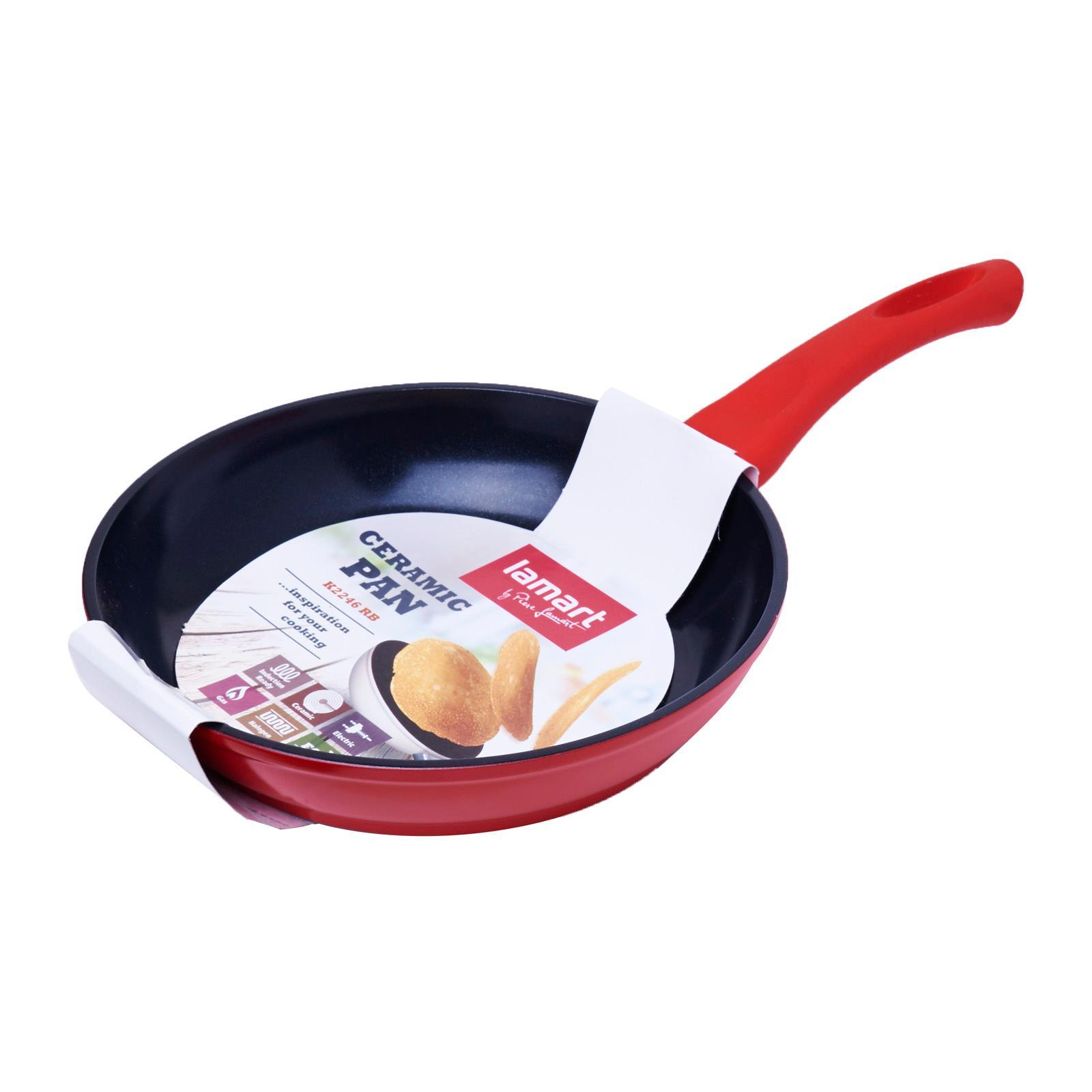 Lamart Induction Ready Ceramic Fry Pan 22/4.6Cm