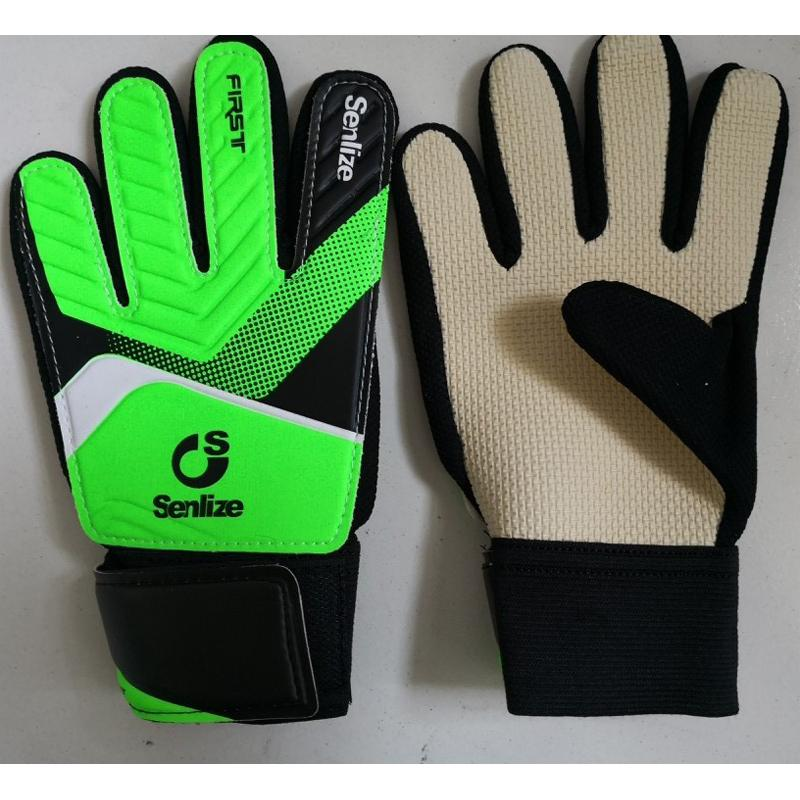 Kids Football Gloves Size 5-7 Children Anti-Skid Non-Slip Latex Entry-Level Teenagers Soccer Boys Girls Door Goalkeepers Gloves Green Blue Yellow Orange Size 5 6 7 Primary School Junior Middle School Students Youngsters Sports Outdoor Goalkeeper Gloves.