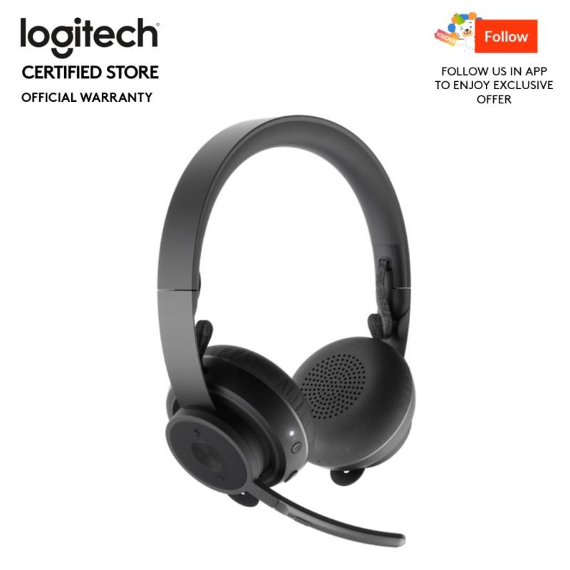 Logitech Zone Wireless Bluetooth Headset with Active Noise Cancellation (ANC) #CnPPromoOct2019 Singapore