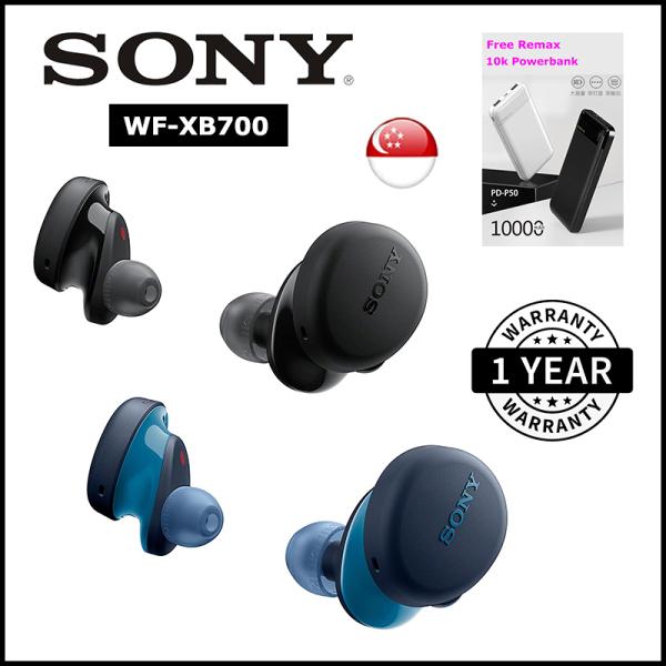 [SG] Sony WF-XB700 EXTRA BASS True Wireless Earbuds TWS Bluetooth Headset/Earphones with mic Singapore