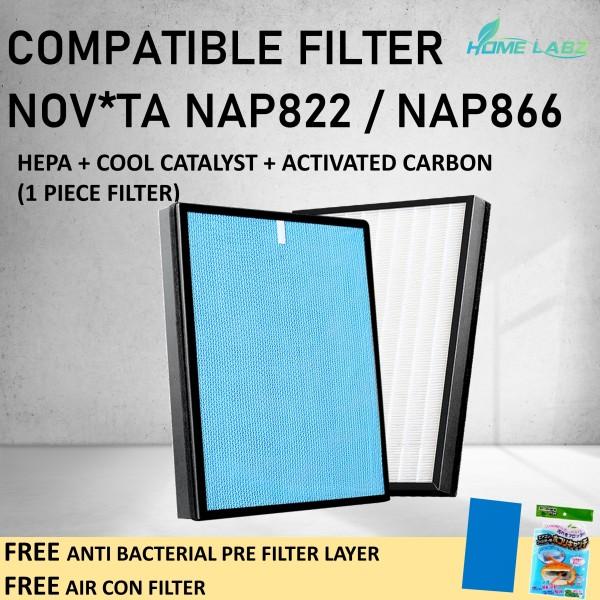 NOV*TA NAP822 NAP 822 NAP866 NAP 866 Compatible filters Singapore