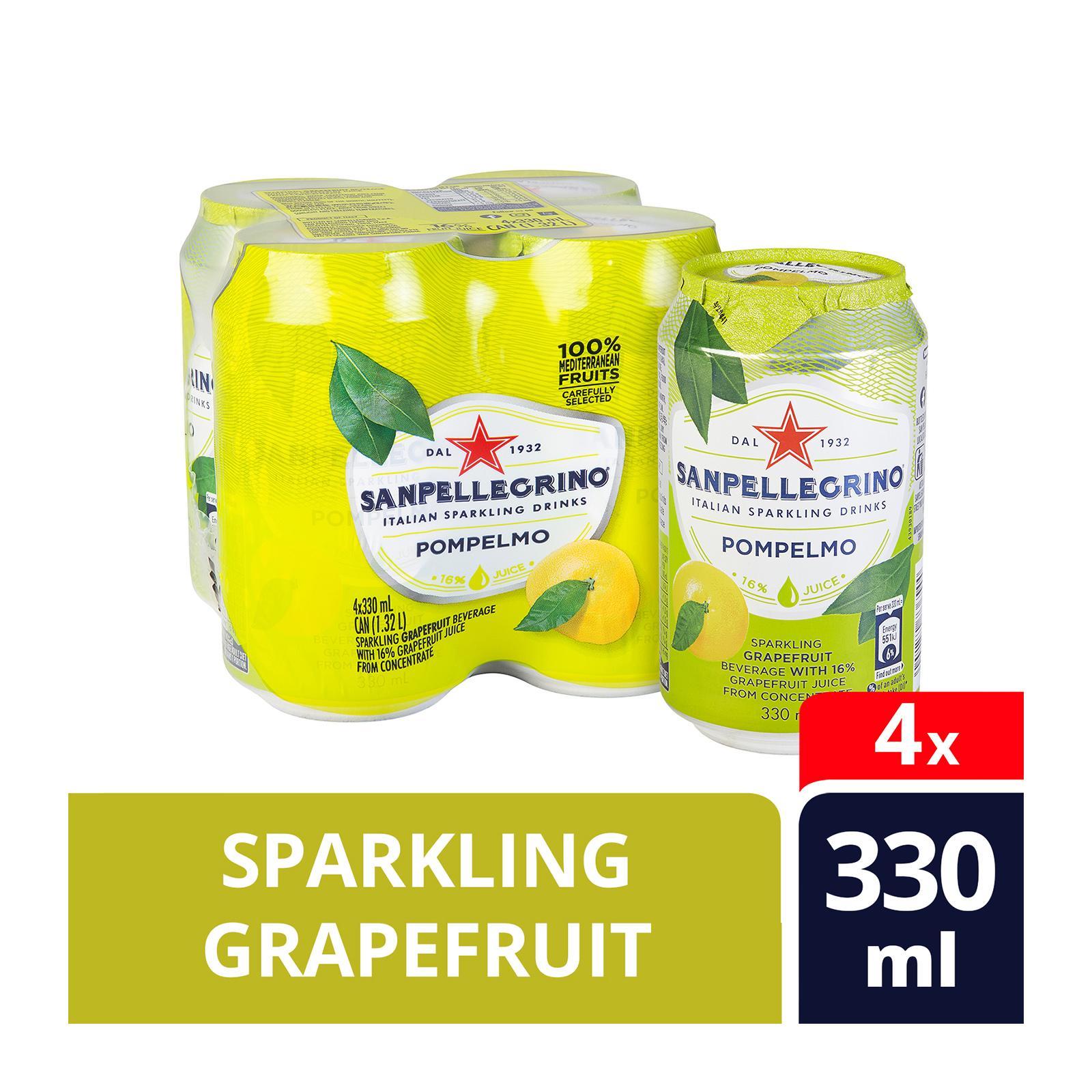 San Pellegrino Pompelmo Sparkling Beverage