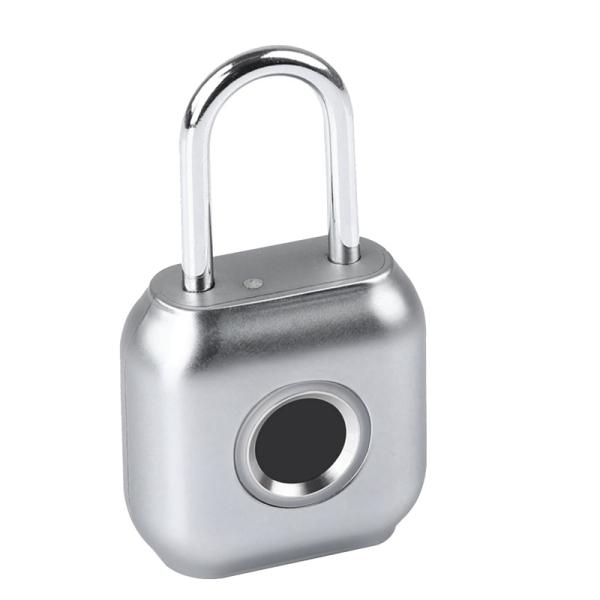 P6 Smart Fingerprint Lock USB Rechargeable Waterproof IP66 Fingerprint Padlock Door Luggage Lock