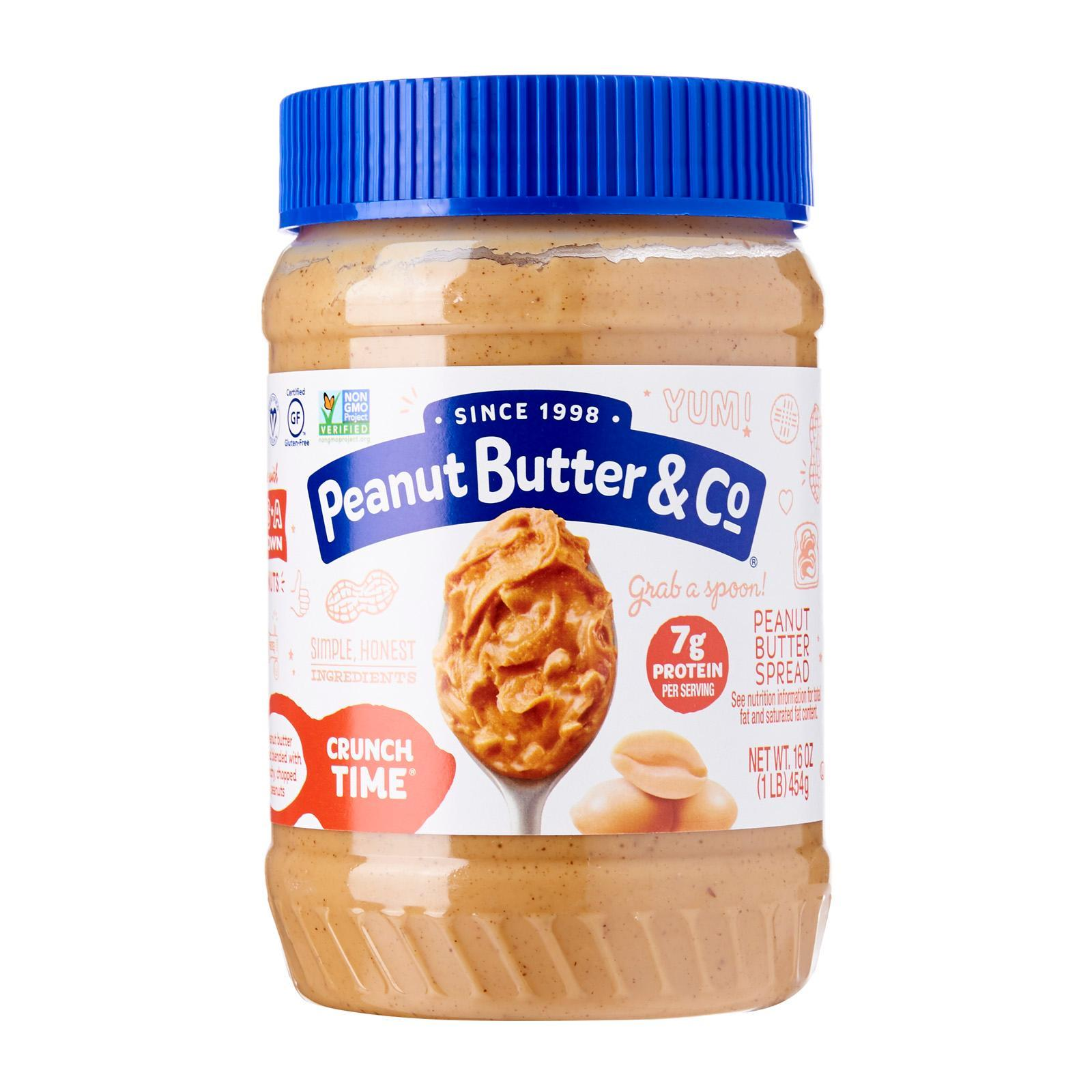 Peanut Butter & Co Crunch Time Peanut Butter 16oz - By Wholesome Harvest