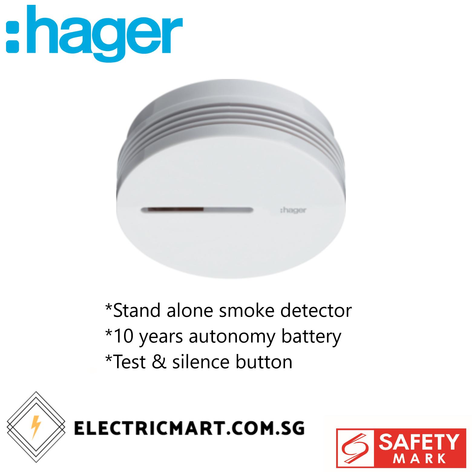 Hager TG600AL Stand Alone Smoke Detector