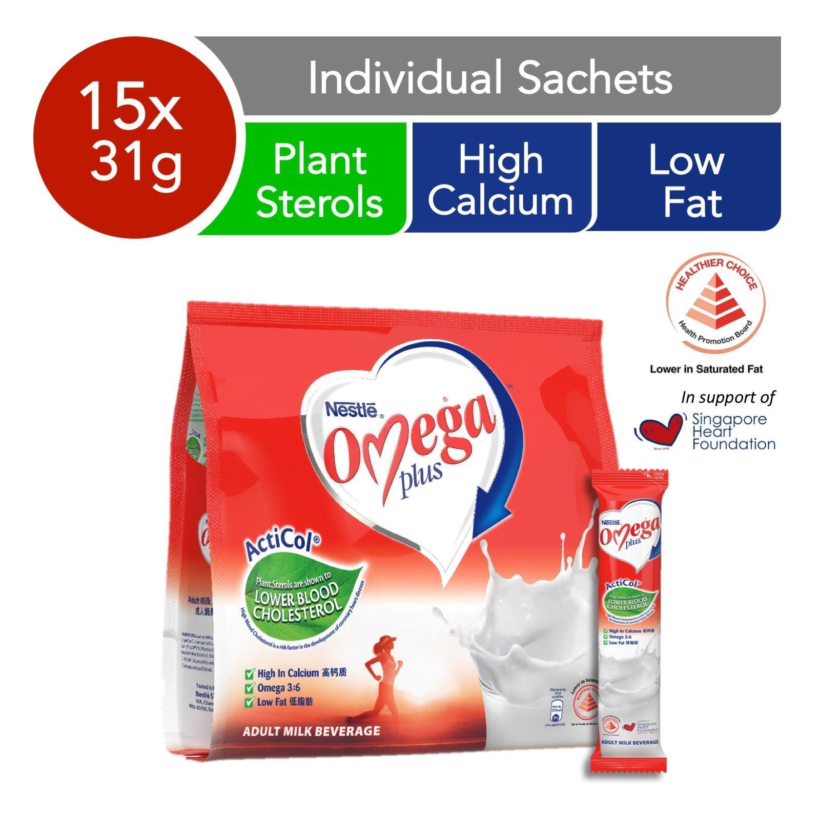 NESTLE OMEGA ActiCol Milk Powder Stick Pack