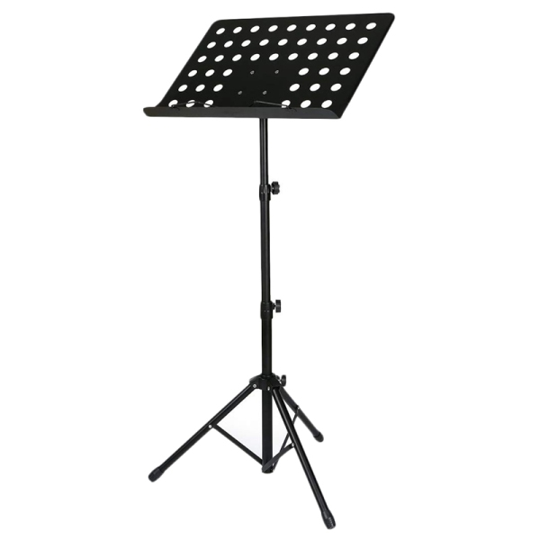 50 x 35cm Sheet Music Stand Folding Metal Music Score Tripod Stand Holder with Widened Thickened Large Panel for All Musical Instrument Malaysia