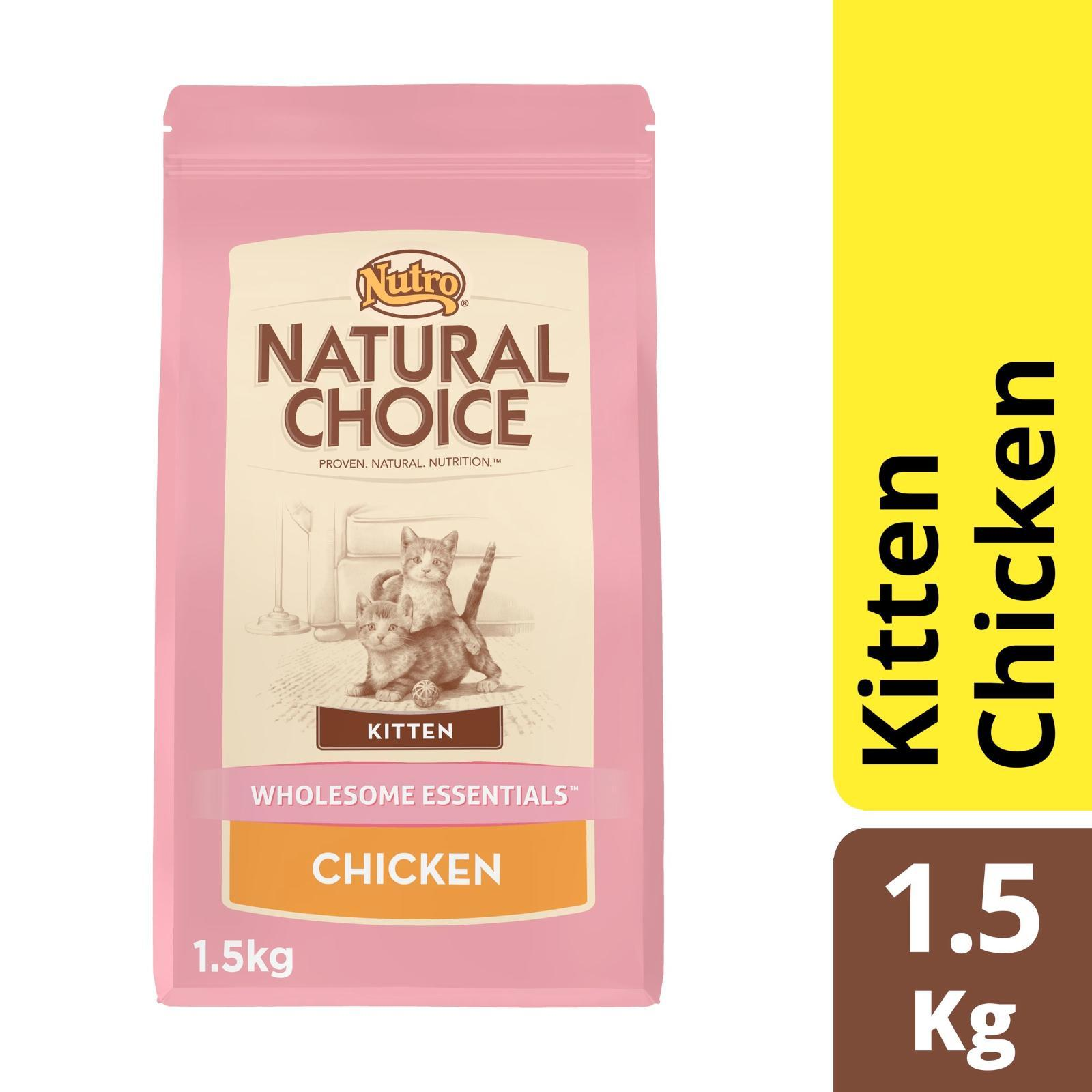 Nutro Cat Dry Kitten Wholeome Essential Chicken Cat Food