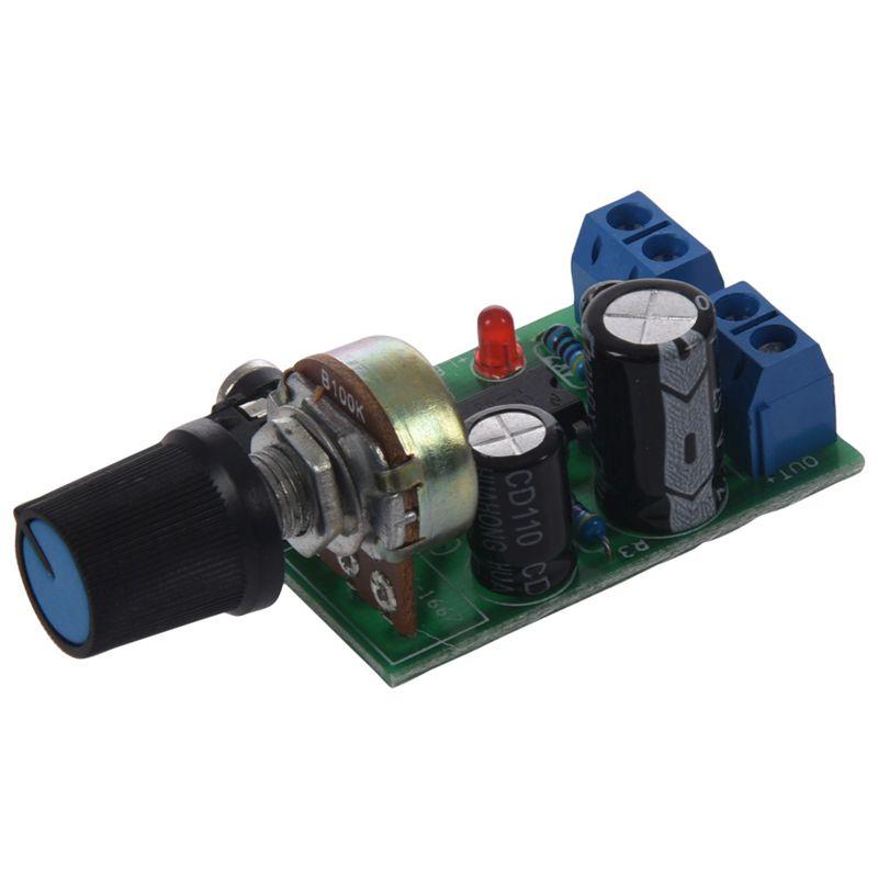 Giá 3V-12V LM386 Super MINI Amplifier Board DC Amplifier Amplifier Module Speaker