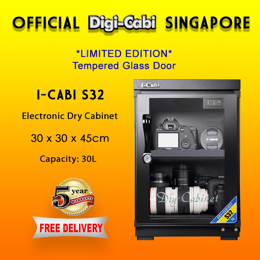Official Digi Cabi Singapore S32/db-036a I-Cabi Electronic Dry Cabinet By Digihubsg.