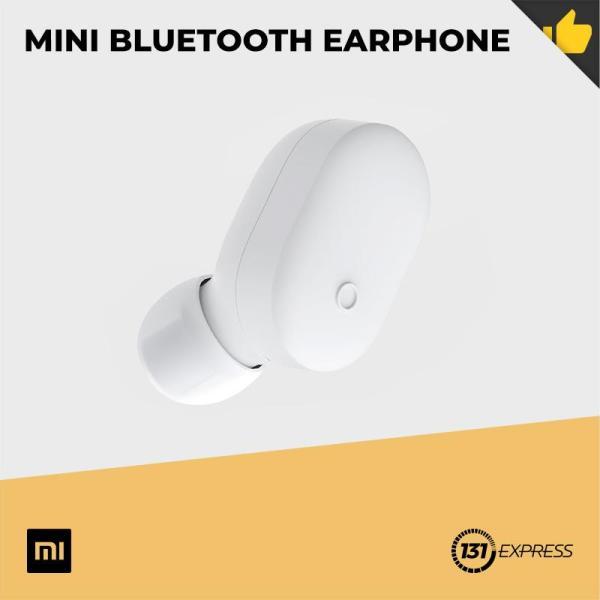 Xiaomi Mini Bluetooth Earphone [ Mini Design, 4.5g Lightweight, IPX4, Single Multi-Function Button, AI Voice Control, Noise-Cancellation, Bluetooth 4.1 ] Singapore