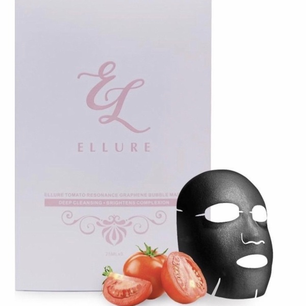 Buy [FREE LINE FRIENDS] ELLURE Tomato Resonance Graphene Bubble Mask ➰ Facial Deep Cleansing ➰ Face Exfoliation ➰ Blackheads ➰ Acne ➰ Oily Skin Singapore