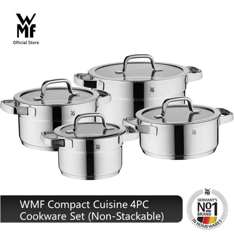 WMF Compact Cuisine 4PC Cookware Set (Non-Stackable) 0790046380 Singapore