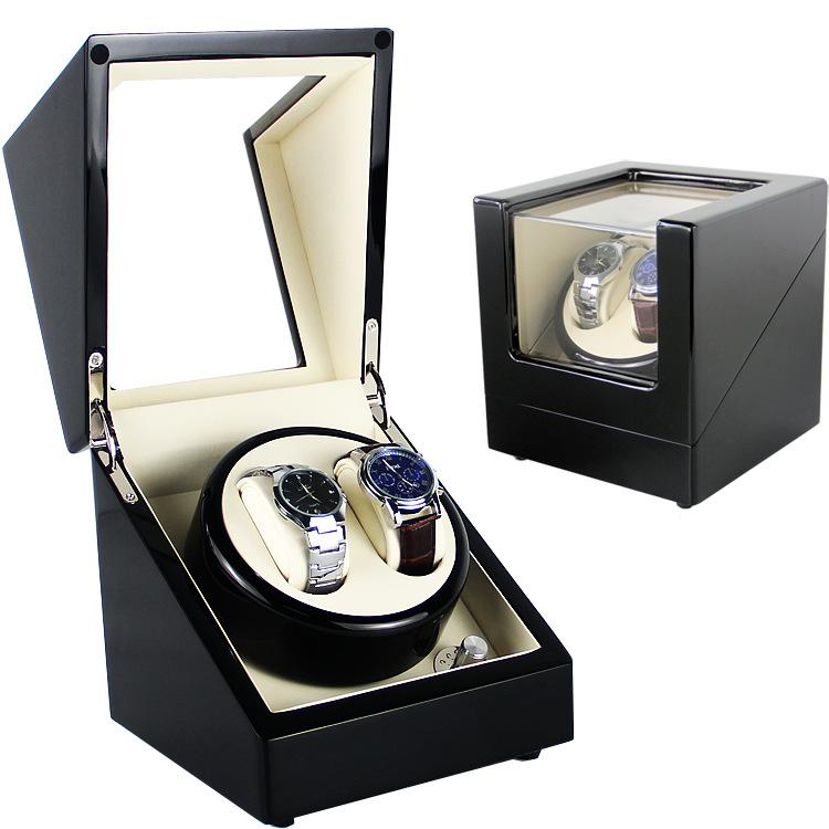 Automatic Watch Winding Box Watch Winder 2+0 Battery Or Power Operated (5 Color) By Funky Creations.