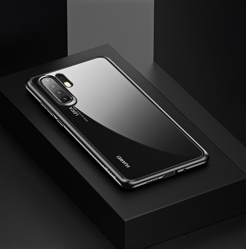 2ee0ea8a16e3bf [SG Seller] Huawei P30 Pro Case, USAMS Mant Series Soft Black TPU Frame