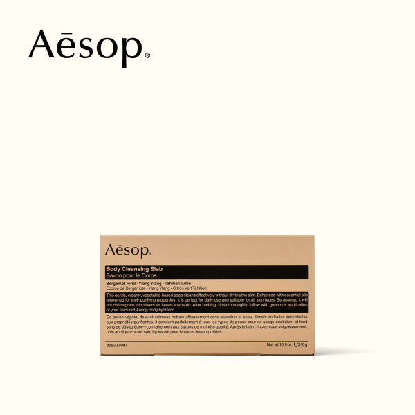 Buy Aesop Body Cleansing Slab 310g Singapore