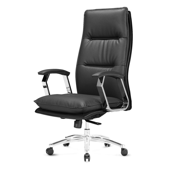 JIJI Alonso Office Chair - Black (Free Installation) - Home Office Chairs / Supreme ★Leather ★Office Furniture ★Grand ★Ergonomic ★Quality / Free 6 Months Warranty (SG) Singapore