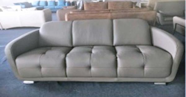 SFF251 UP 6068 (Avignon) 3 Seaters PU Sofa set