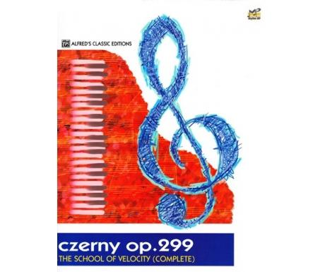 Czerny OP. 299 - The School Of Velocity (COMPLETE) - Alfred's Classic Editions - Piano Book - Music Book