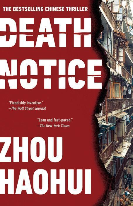 Death Notice: A Novel by  Zhou Haohui