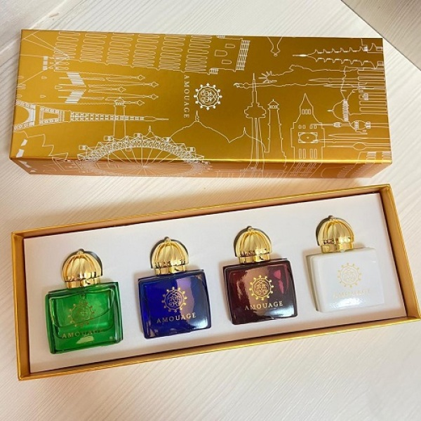 Buy Amouage Parfum Gift Set for Women With 4x30ml Singapore