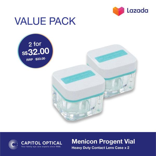 Buy Menicon Progent Vial (2 pack) Singapore