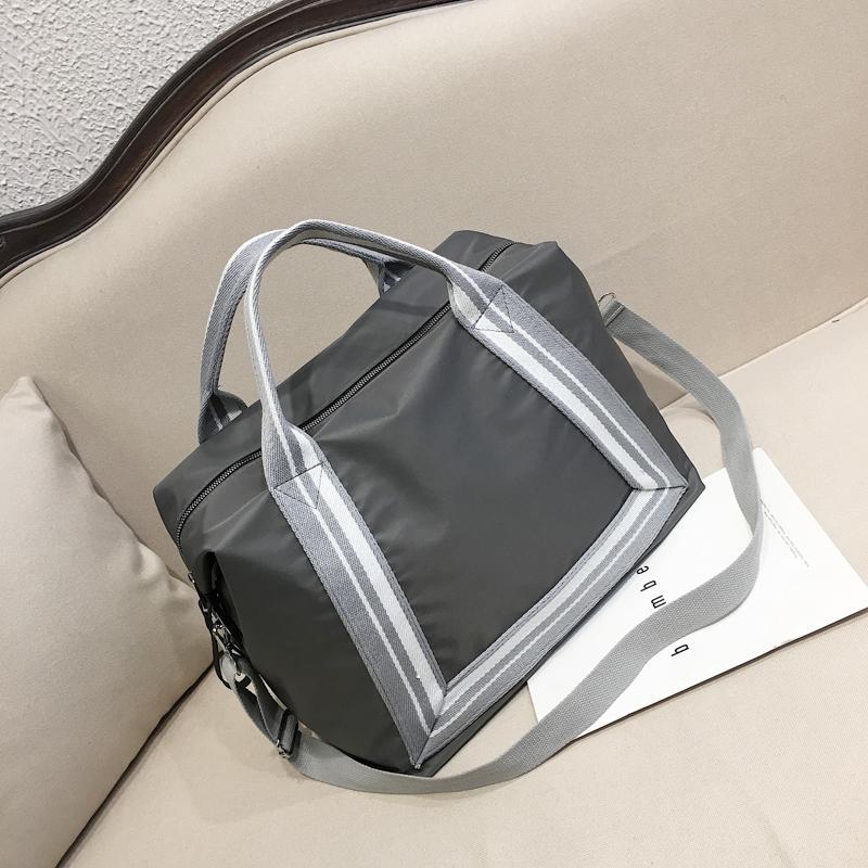 Short Trip Travel Bag Female Hand Large Capacity Light Go out Simplicity Portable Short Term Tourism Small Luggage Storage Bag