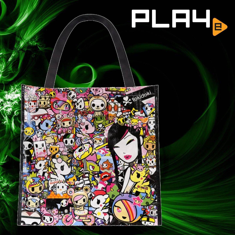 Tokidoki Kawaii Metropolis Vinyl Tote Bag