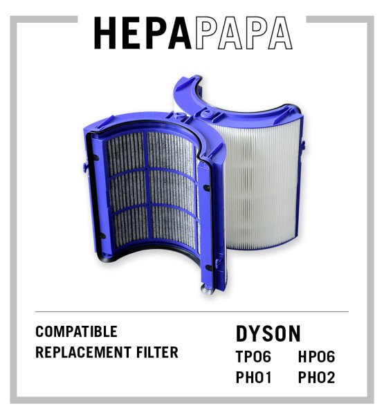 Dyson TP06 HP06 PH01 PH02 Compatible Replacement Filter [HEPAPAPA] Singapore